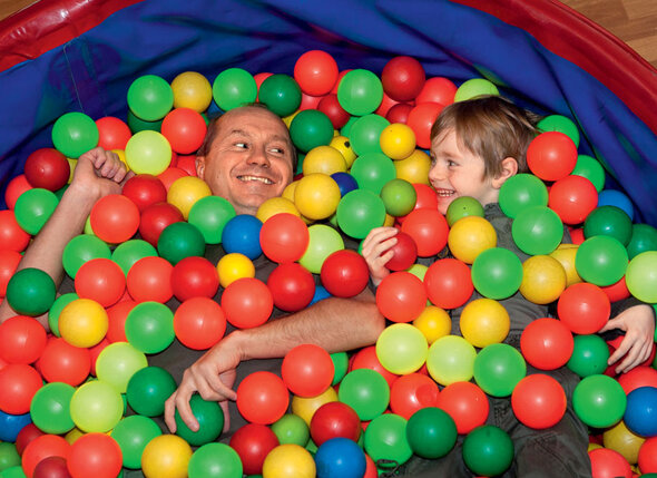 С сыном Александром. 2007 г.