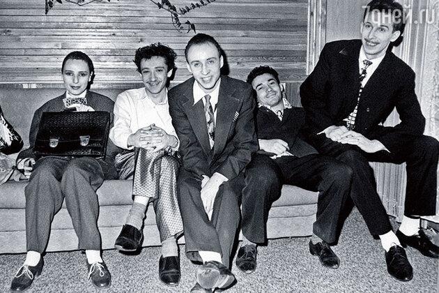 «Браво» середины 80-х: Жанна Агузарова, Евгений Хавтан, Федор Пономарев, Тимур Муртузаев и Павел Кузин