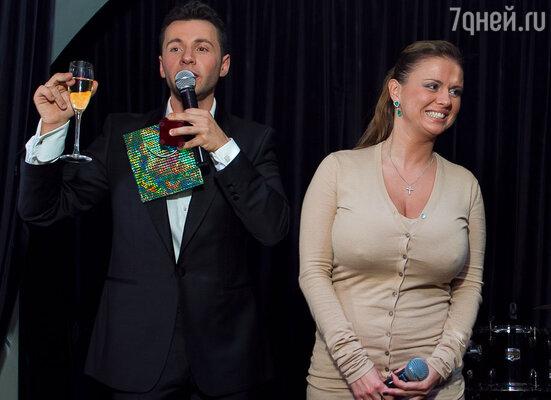 Вячеслав Манучаров и Анна Семенович