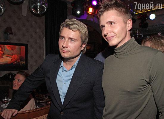 Николай Басков и Олег Влади