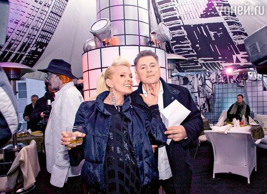Лайма и ее гражданский муж Андрей вместе уже 20 лет