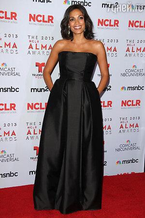 Розарио Доусон в платье от Houghton   на церемонии NCLA ALMA Awards 2013