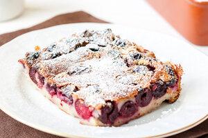 Французский десерт с вишней: рецепт от шеф-повара Мишеля Ломбарди
