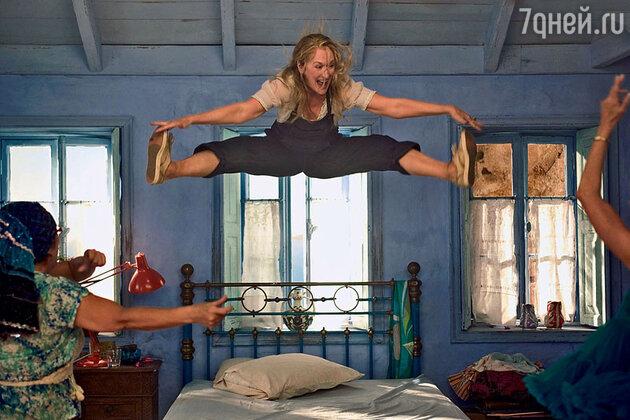 Мэрил Стрип в мюзикле «Mamma Mia!» 2008 г.