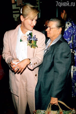 Мэрил Стрип с мамой