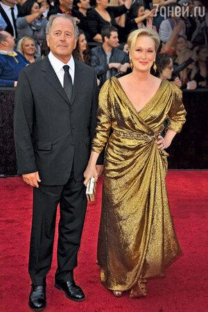 Мэрил Стрип с мужем Доном Гаммером