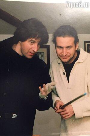 Леонид Агутин и Леонид Ярмольник