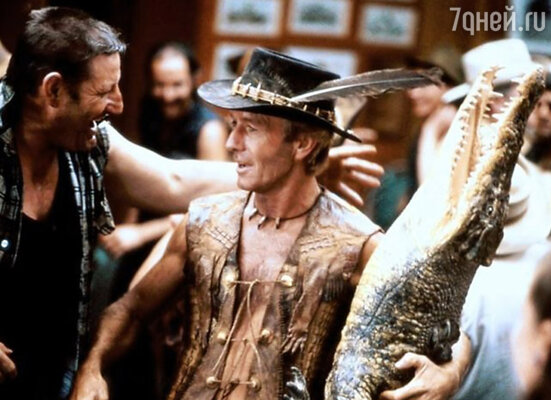 Кадр фильма  «Данди по прозвищу крокодил»