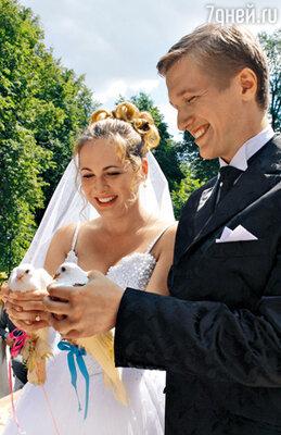 Свадьба Анны Горшковой в кино (с Анатолием Руденко)...