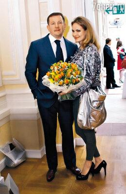 ...и в реальной жизни — с мужем Михаилом Борщевым