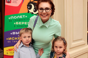 Наталья Бочкарева показала детям сказку