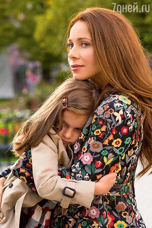 Екатерина с дочкой Анной