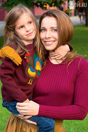 Екатерина Гусева с дочерью