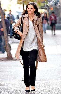 Кэти Холмс. Манхэттен, 2011 г.