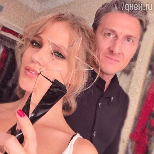 Наталья Ионова с мужем Александром Чистяковым