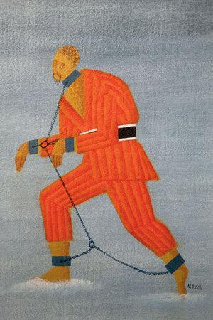 Эскиз Николая Двигубского к опере Мусоргского «Хованщина»