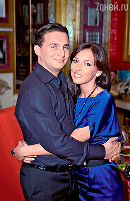 Певица с мужем бизнесменом Яном Абрамовым