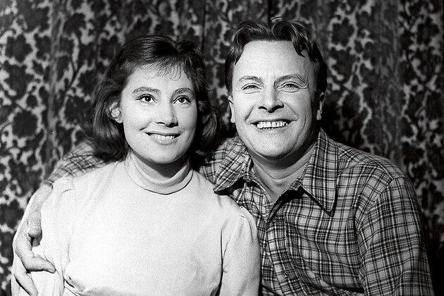 Татьяна Самойлова  с отцом