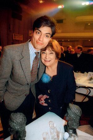 Татьяна Самойлова с сыном