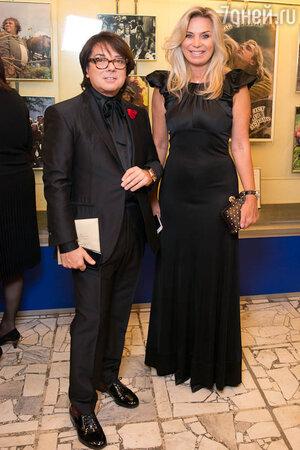 Валентин Юдашкин с супругой Мариной