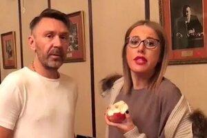 ВИДЕО: Сергей Шнуров исполнил мечту Собчак