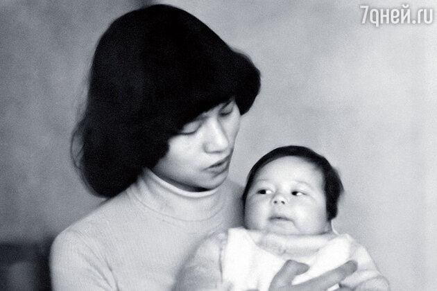 Ле Ву Ань с дочерью