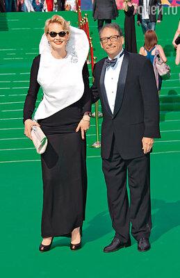 Рената Литвинова и обувной кутюрье Стюарт Вайцман