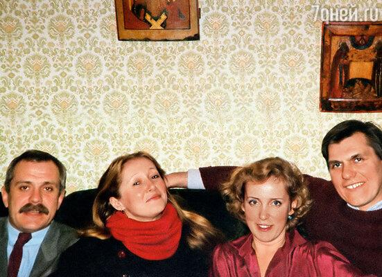 Никита с женой у нас с Наталией в Питере