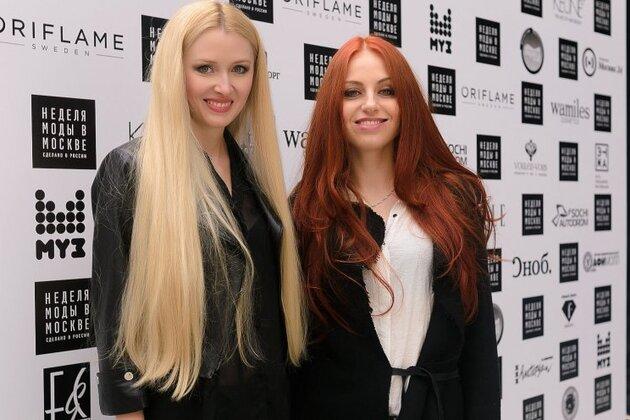 Элеонора Амосова и Ирина Забияка