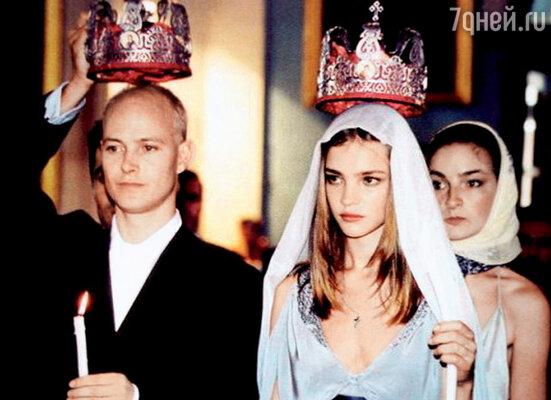 Наталья с Джастином венчались в Санкт-Петербурге, в Александро-Невской лавре. 2002 г.