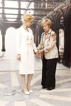 Виталина Цымбалюк-Романовская с мамой Лидией Ивановной