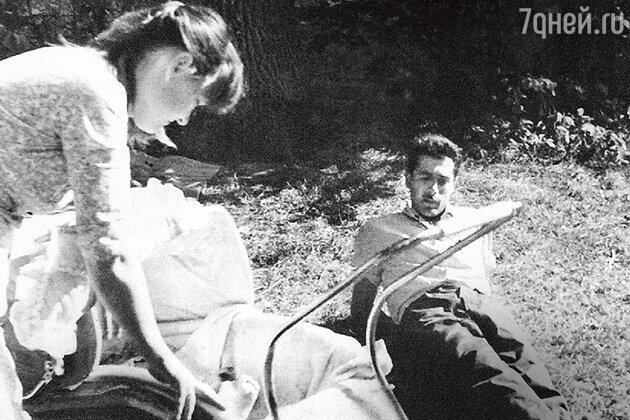 Людмила Гурченко с дочкой Машей и  мужем Борисом Андроникашвили. 1959 г.