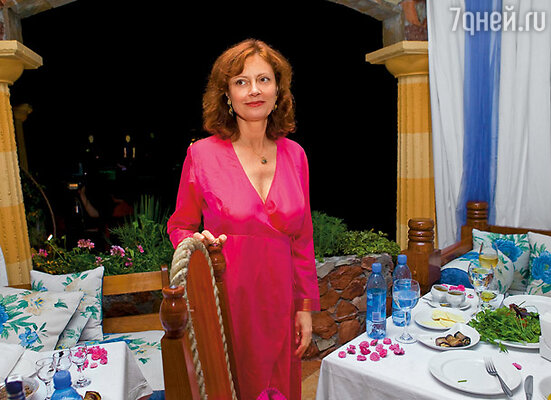 Сьюзан Сарандон на «Кинотавре»