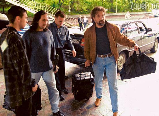 Леонид Ярмольник  и Александр Иншаков  были частыми гостями  на «Кинотавре»