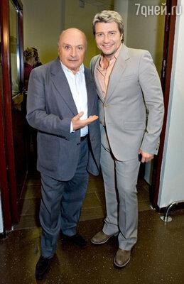 Михаил Жванецкий и Николай Басков