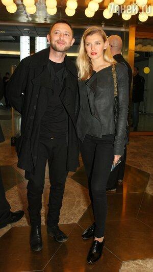 Рома Зверь с женой Мариной