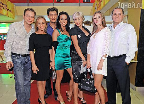 Актеры нового сериала «Маргоша»
