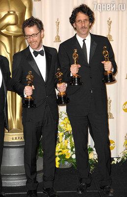 Джоэл  и Итан Коэны. «Оскар-2008»