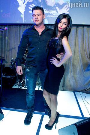 Алексей Кабанов с супругой