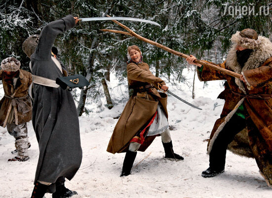 Перед съемками Светлана Ходченкова научилась драться насаблях