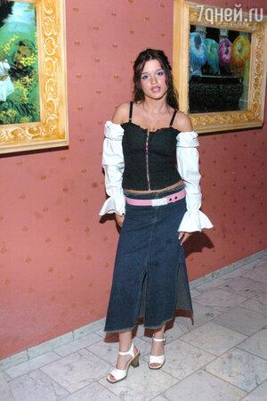 Ксения Бородина в 2004 году