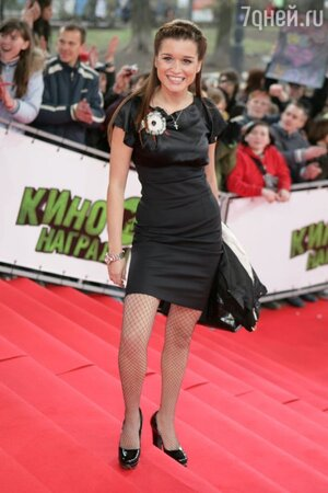 Ксения Бородина на вручении кинопремии МТV в 2008 году