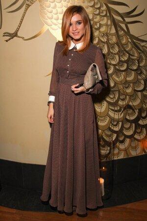 Ксения Бородина на дне рождения благотворительного фонда «Галчонок» в 2013 году