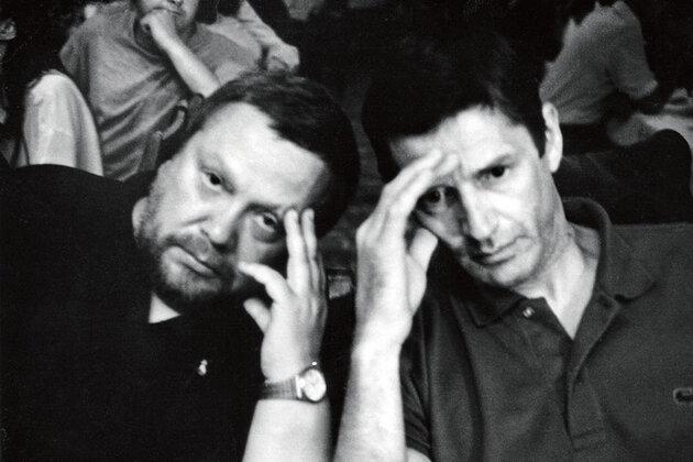Сергей Соловьев и Александр Абдулов