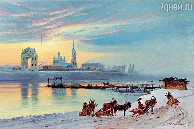 С Камчатки моряки перебрались в Охотск, а оттуда — в Иркутск