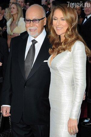 Селин Дион с мужем