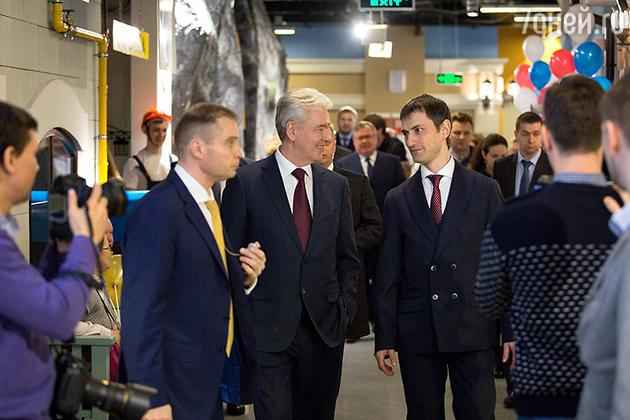 Сергей Собянин и Максимилиан Пивоваров