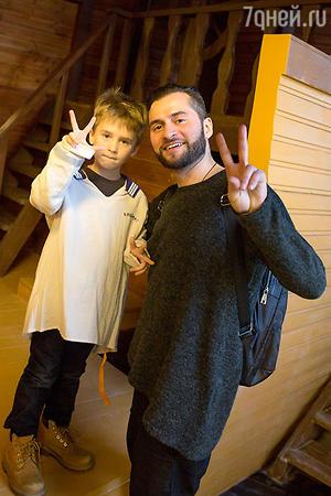 Ираклий Пирцхалава с сыном