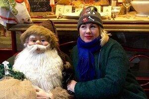 ВИДЕО: Ева Польна познакомилась с итальянским Дедом Морозом