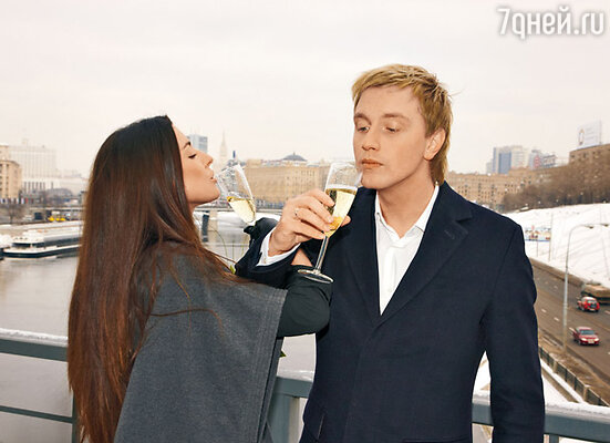Алексей Гоман и его жена Маша